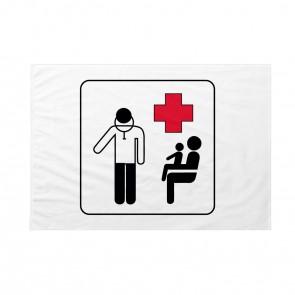 Bandiera Ambulatorio guardia medica