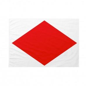 Bandiera Codice Internazionale Nautico FOXTROT