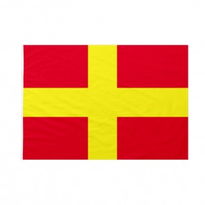 Bandiera Codice Internazionale Nautico ROMEO