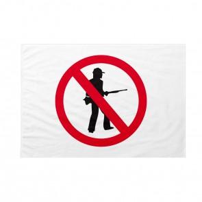 Bandiera Divieto di caccia