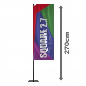 Square 2.7 Flying Banner